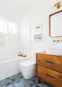 modern guest bathroom guest bathroom reveal emily henderson