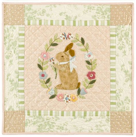 Bunny Quilt Patterns Free by Garden Bunny Quilt Pattern By Bunny Hill Designs Sutton