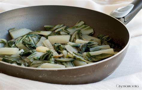 come cucinare le coste di bieta coste in padella ricetta vegetariana