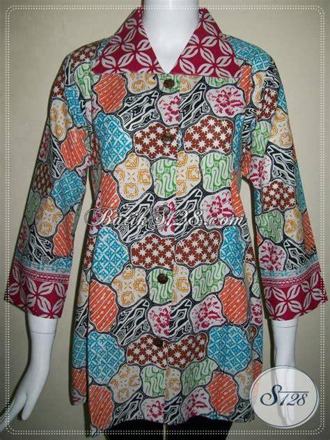 Blouse Batik Sekar Jagad baju batik wanita exclusive blus batik exclusive motif