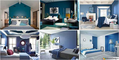 camere da letto blu tante idee  arredo  diverse