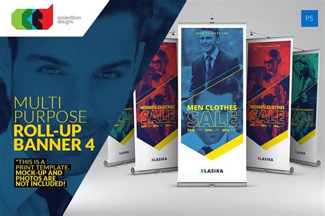 templates for pop up banners multipurpose roll up banner 4 flyer templates creative