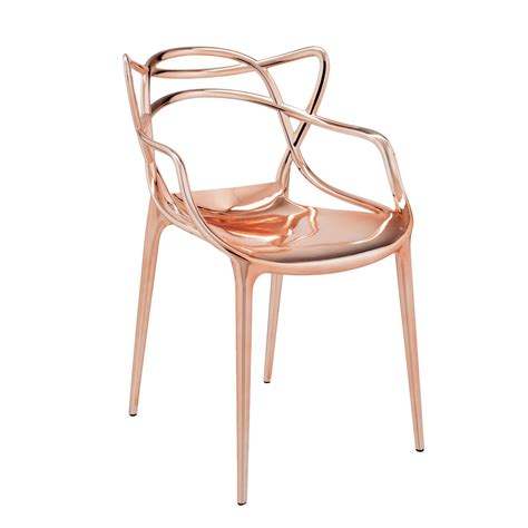 kartell chair kartell masters chair in copper