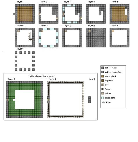 minecraft modern house floor plans minecraft floorplans medium house by coltcoyote on deviantart