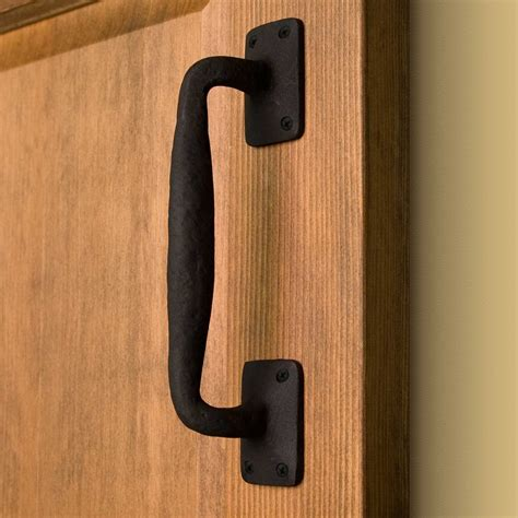 Barn Door Handle Sadler Curved Iron Pull Hardware