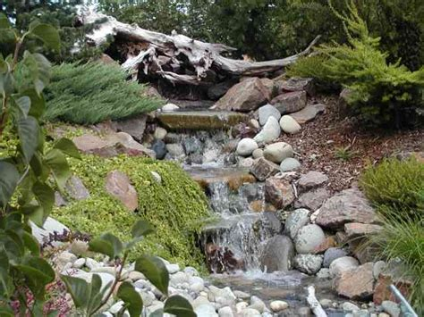 building a backyard waterfall garden waterfall 226 how to make it rosa