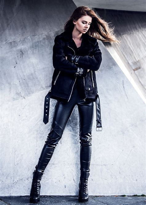 rock chic get the rock chic style this fall with iga wysocka glam