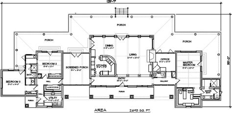 New One Story House Plans Single Story Ranch House Plans New Ranch Style House Plan