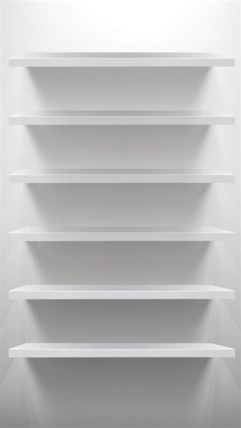 Simple White Shelves Best 25 Simple Iphone Wallpaper Ideas On