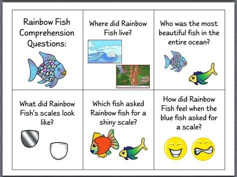 story themes about friendship let s talk the rainbow fish speech stuff pinterest