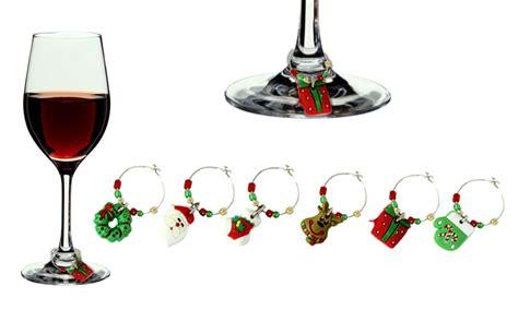 decorazioni bicchieri decorazioni per bicchieri da vino groupon goods