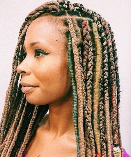 hairstyles for block braids 20 elegant big box braids big box braids locs and faux locs