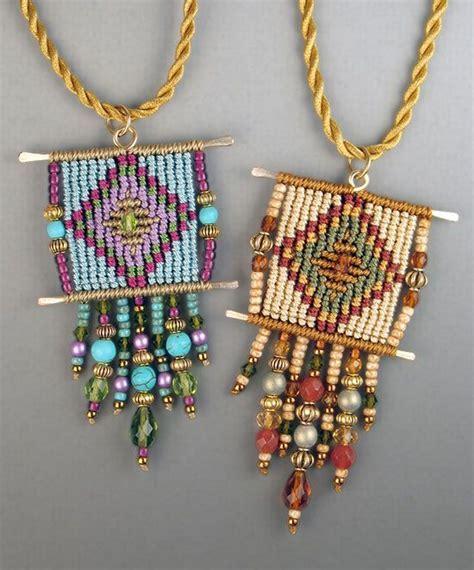 Cavandoli Macrame Patterns - 3852 best images about macrame necklaces on