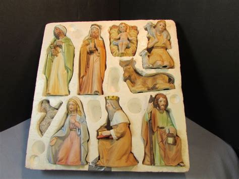 home interior nativity homco nativity set shop collectibles daily