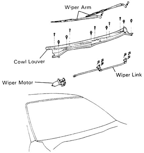 repair guides windshield wipers front windshield repair guides windshield wipers windshield wiper motor autozone com