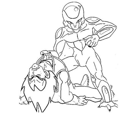 dragon ball z frieza coloring pages frieza pages coloring pages
