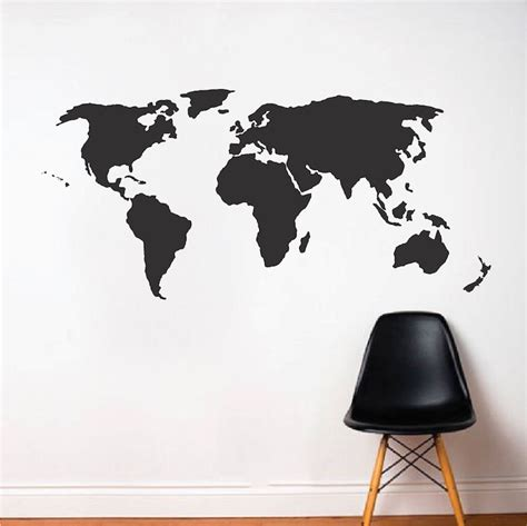 wall stickers world world wall decal modern wall decals from trendy wall