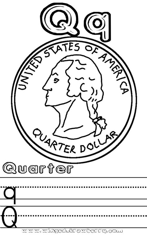 Coloring Page Quarter by Obey Parents Free Colouring Pages