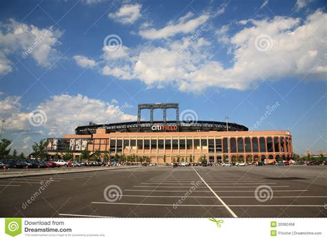 citi field new york mets editorial stock photo image