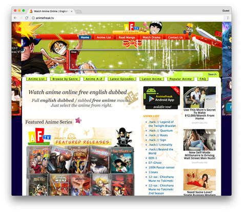 Animefreak T by How To Free Anime Shows