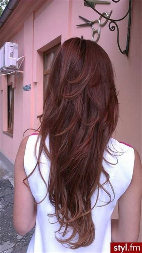 Long Hair With Short Layers On Crown | 25 best ideas about short layers on pinterest layered