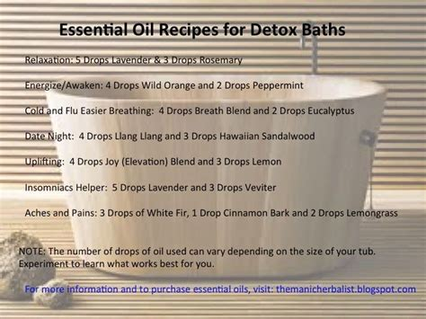 Doterra Detox Bath For Cold by 59 Best Images About Doterra Detox Baths On