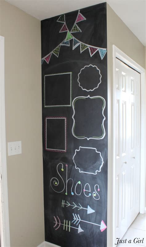 diy chalk paint on walls a diy chalkboard wall