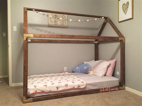 diy twin house bed plans   httpwww
