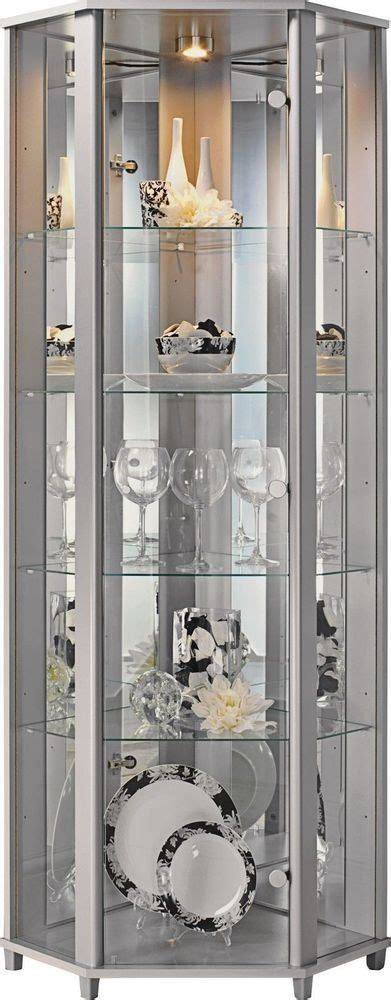 corner display cabinet glass 25 best ideas about display cabinets on grey