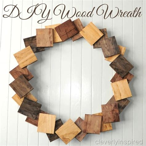 diy decorations wood diy wood wreath
