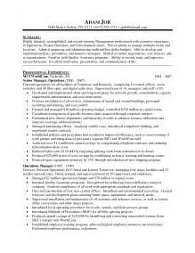 Effective Resume Sle by Director Operations Resume Sales Director Lewesmr