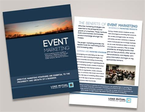 Corporate Event Brochure Seminar Brochure Design Financial Conference Brochures Event Booklet Template
