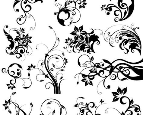 imagenes vectoriales gratis para estar motivos florales y ornamentos decorativos vectoriales gratis