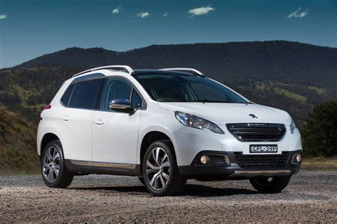 peugeot compact car peugeot cars news 2008 compact suv on sale now