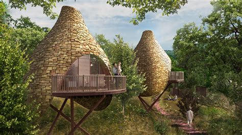 designer tree houses multi million pound treehouse development proposed at robin hill country park