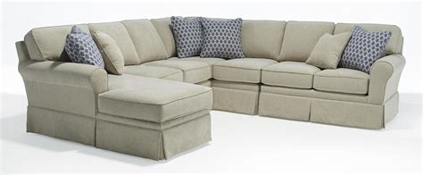 Annabel Five Piece Customizable Sectional Sofa With Sock