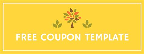 coupon template free 8 free coupon templates they re really desk tyrant