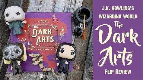 j k rowlings wizarding 1406377031 the wizarding world dark arts book flip review harry potter j k rowling youtube