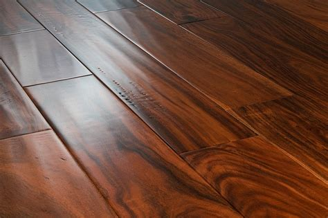 vanier engineered hardwood acacia collection acacia handscraped cognac 4 7 8 quot 5 8