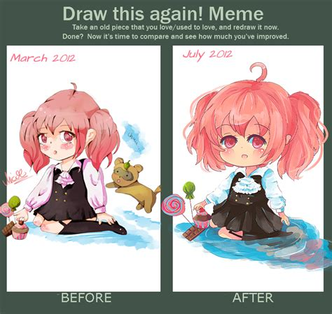 S Anime Meme by Draw This Again Meme Chibi By Kyoukaraa On Deviantart