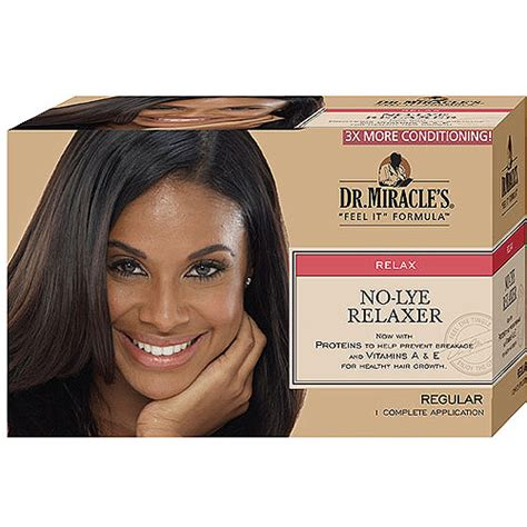 dr miracle hair dr miracle s regular no lye hair relaxer walmart com