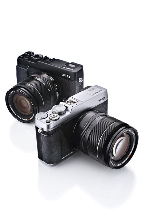fujifilm interchangeable lens fujifilm announce the x e1 premium interchangeable lens
