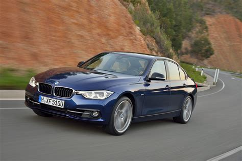 bmw 3 series facelift 2016 bmw 3 series facelift officially unveiled with new