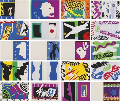 Henri Matisse 2227 by Matisse Henri Jazz Portfolio Of 20 1947 Mutualart