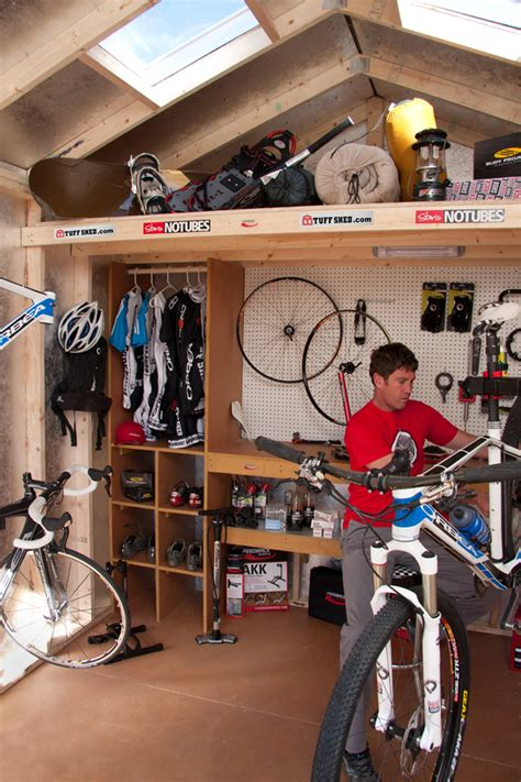 Mountain Bike Shed by Made In Colorado Sports Equipment And Clothing Tuff Shed