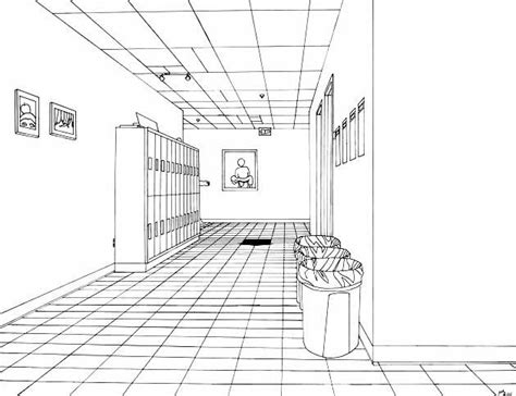 Single Line Floor Plan by One Point Perspective Drawing The Ultimate Guide