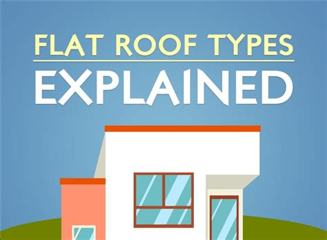 Flat Roof Types Flat Roof Types Explained