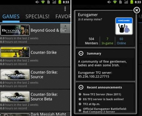 steam for android steam for android el mejor cliente m 243 vil de steam gizmos