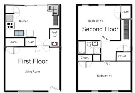 Duplex Home Plans floor plans river oaks apartments
