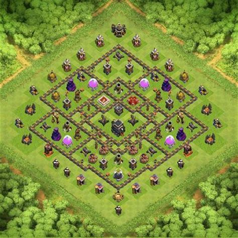 coc layout th9 new new th9 war base th 9 clash of clans base layout buy